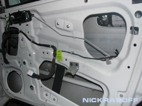 chevrolet lacetti wagon сломалась ручка полика багажника